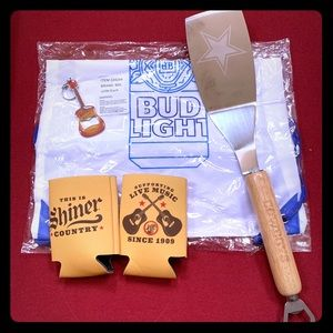 ⭐️5 Piece BBQ Party Pack cowboy grill spatula+More